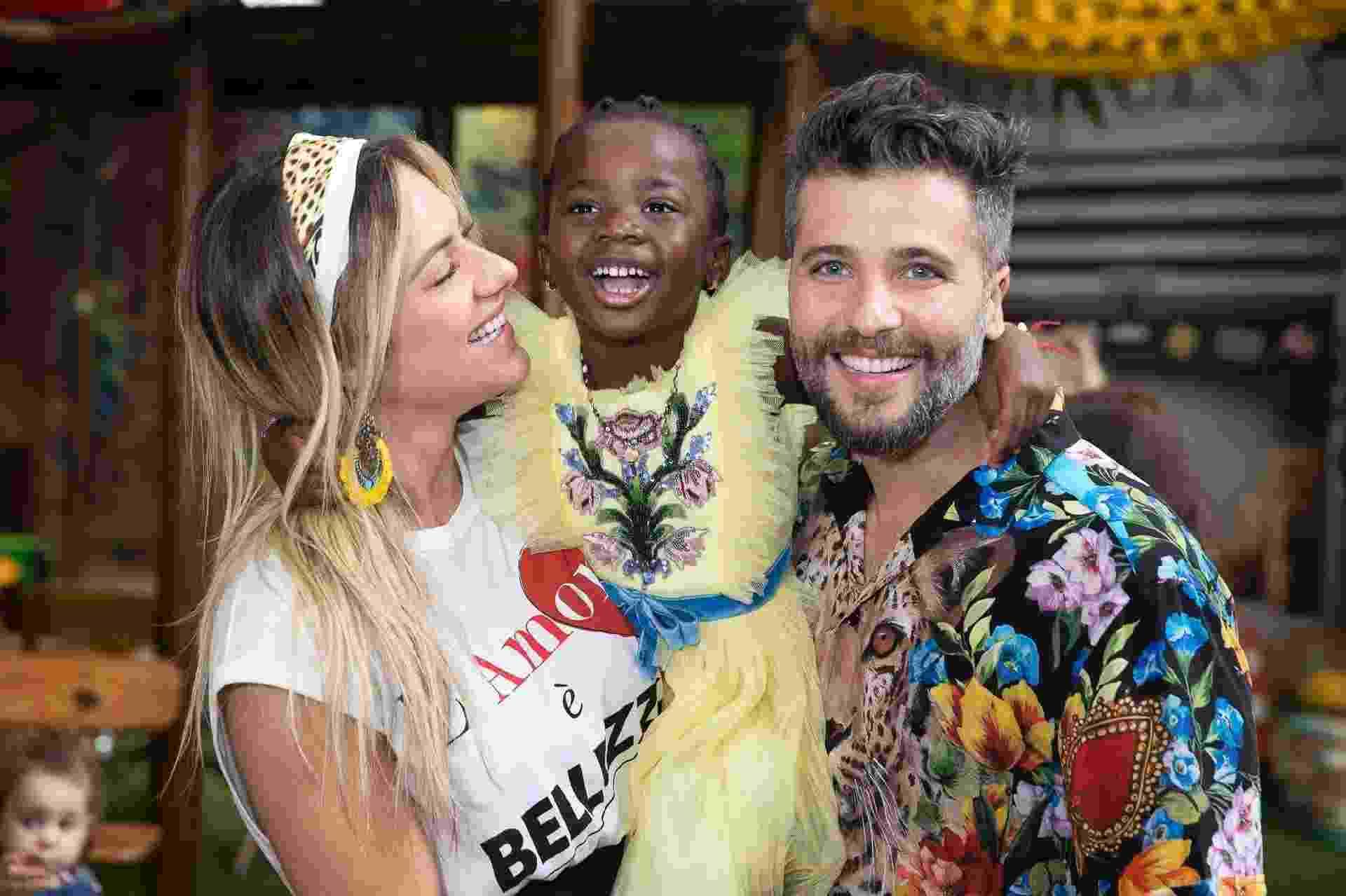 """Com o tema """"Titi Miraculous"""", inspirada no desenho """"As Aventuras de Lady Bug"""", Titi, filha de Giovanna Ewbank e Bruno Gagliasso completou cinco anos e reuniu convidados famosos em sua festa na manhã deste sábado (16) no Rio - Felipe Panfili/Divulgação"""
