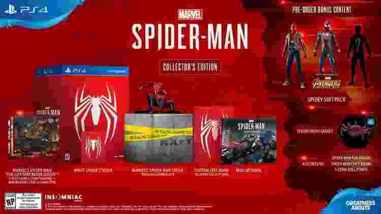 Spider-Man Edição de Colecionador - Divulgação - Divulgação