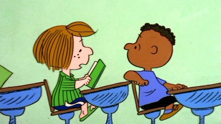 O personagem Franklin (à direita) - Reprodução