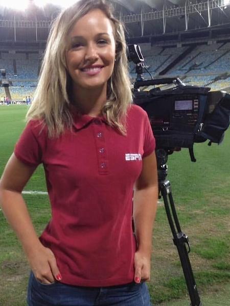 Bibiana Bolson será comentarista da ESPN nas transmissões do campeonato paulista feminino - ESPN