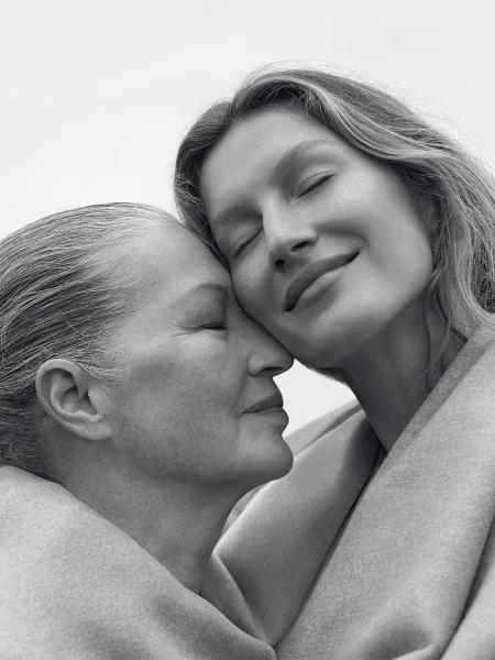 Gisele Bündchen e sua mãe, Vânia - Zee Nunes/Cortesia Vogue Brasil