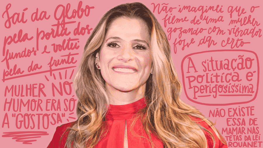 Ingrid Guimarães vem com novo programa no GNT - Fábio Guinalz/Folhapress/Arte UOL