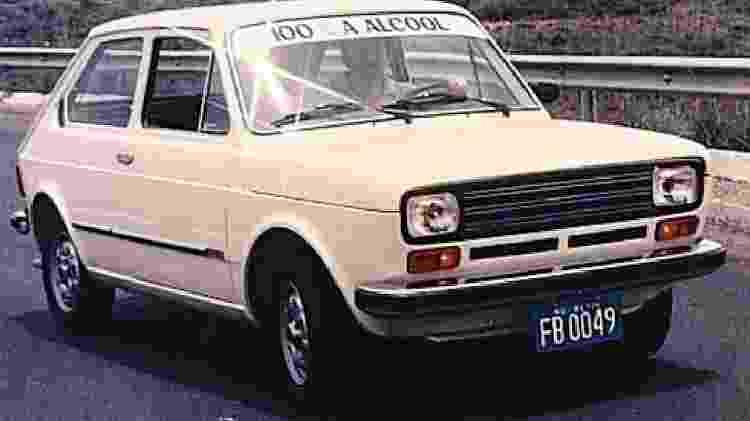 Fiat 147 álcool 1979 cor - Divulgação - Divulgação