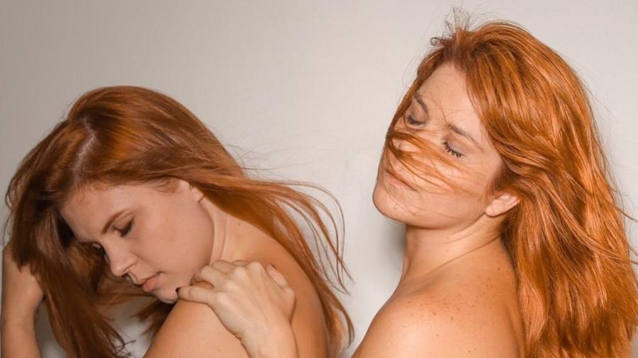 Resultado de imagem para Samara Felippo e Caroline Figueiredo surpreendem ao posar nuas