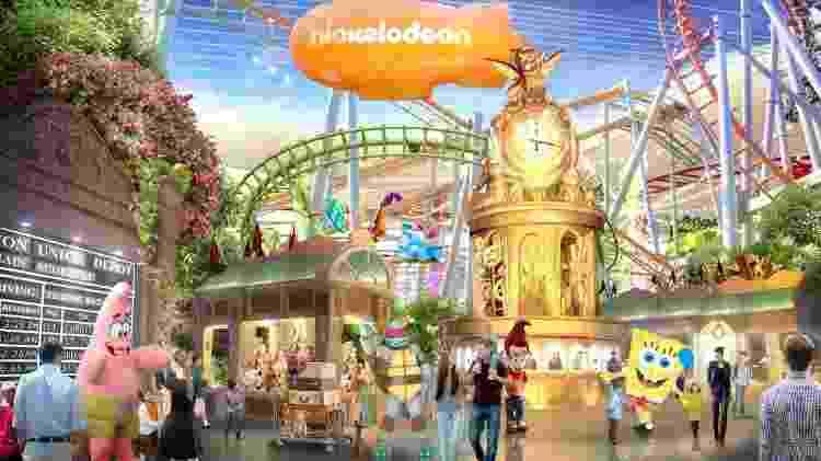 Nickelodeon Universe Theme Park - Divulgação