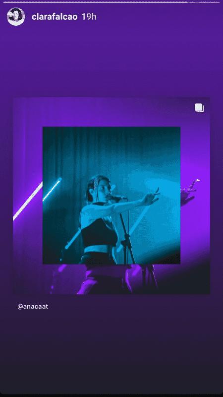 Clarice prefere divulgar conteúdo mais enigmático, e pode ter a ver com seu signo - Reprodução/Instagram