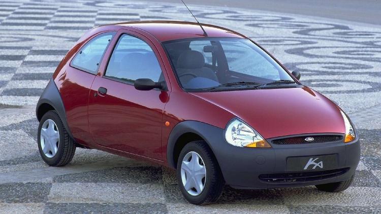 Ford Ka 1996 - Divulgação - Divulgação