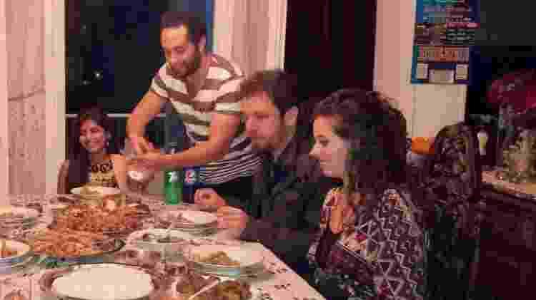 Banquete no Egito - Marcel Vincenti/Arquivo pessoal - Marcel Vincenti/Arquivo pessoal