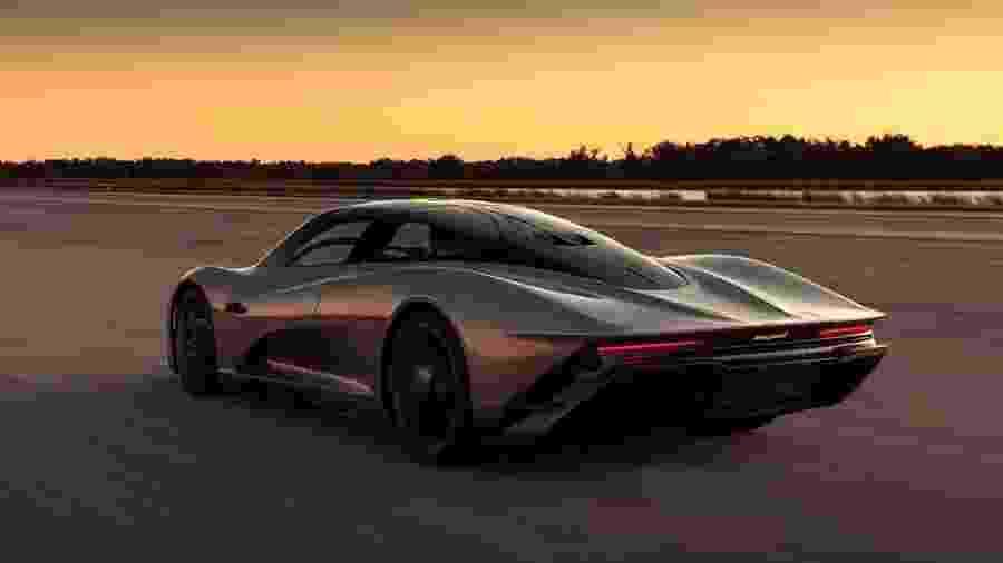 McLaren Speedtail - Divulgação