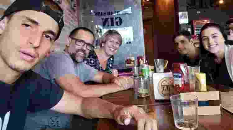 Família de Felipe Prior, participante do BBB20 - Reprodução/Instagram