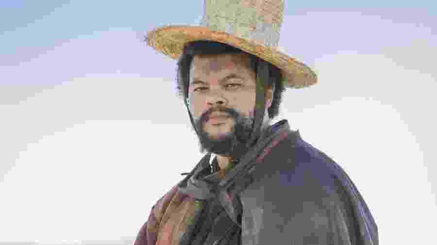 """Babu Santana como Jacinto em """"Novo Mundo"""" - Reprodução"""