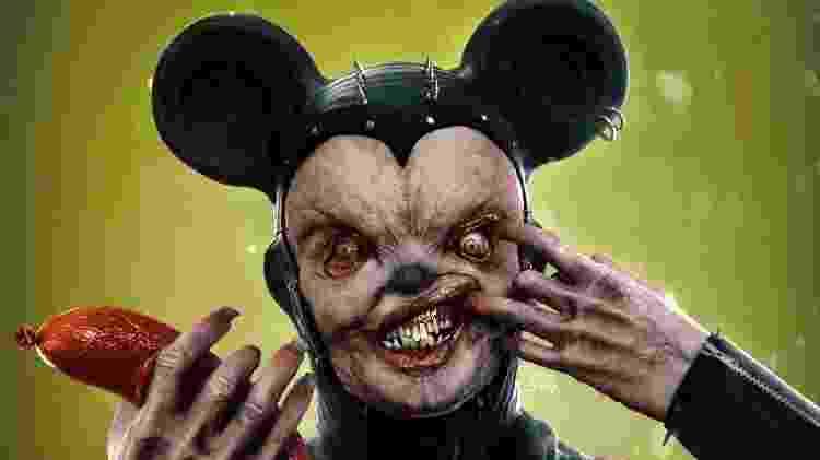 Mickey Bizarro arte brasileiro Odd Jorge - Arte/Odd Jorge - Arte/Odd Jorge