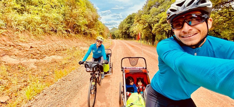 Família biker: há 4 anos na estrada - Arquivo pessoal