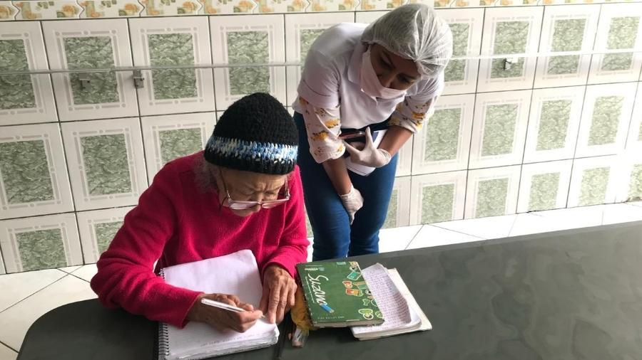 """O trabalho do """"Envelhecer Sustentável"""" nos lares de idosos das periferias - Horas da Vida/Divulgação"""