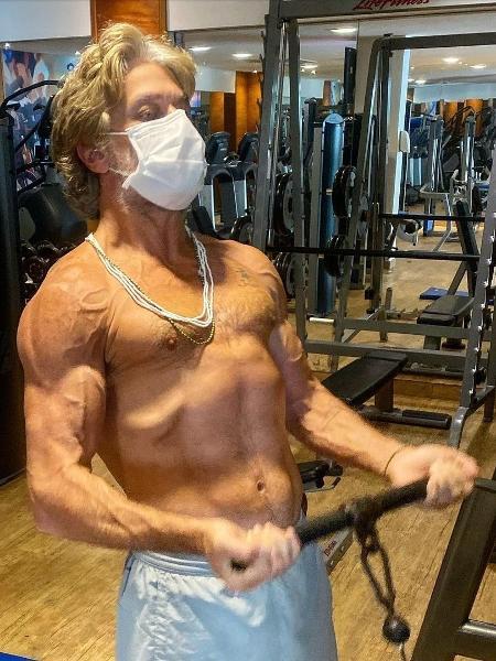 Fábio Assunção mostra corpo trincado em treinamento - Reprodução/Instagram