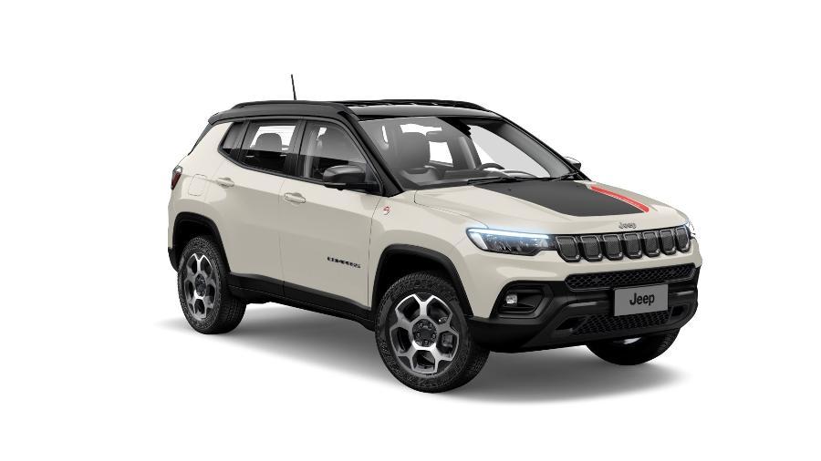 Jeep Compass 2022 Trailhawk com motor diesel antigo - Divulgação