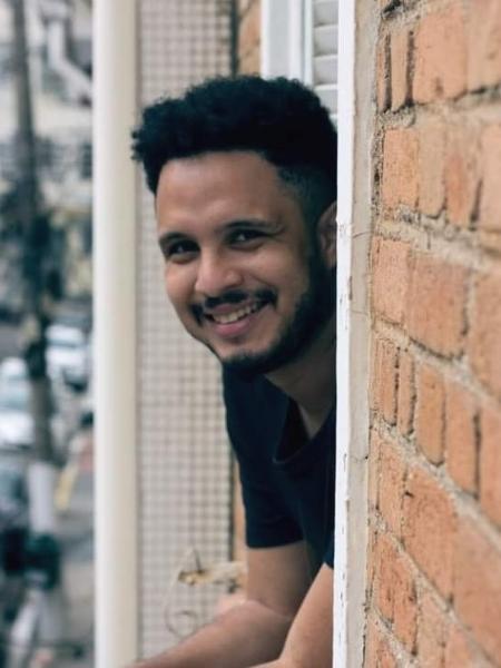 David Oliveira, 29, comunicador digital, foi diagnosticado com HIV aos 25 anos - Arquivo pessoal