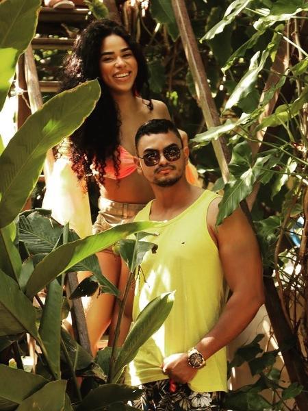 No Limite: Elana e o irmão, Edinaldo Fernandes - Reprodução/Instagram