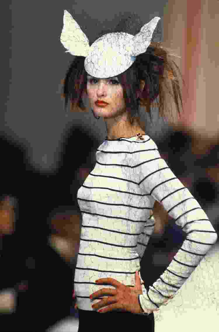 Marinière em desfile da Chanel, em 1995 - Getty Images - Getty Images