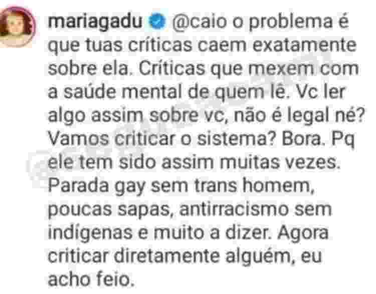 Maria Gadú sai em defesa de Juliette por lives - Reprodução/Instagram - Reprodução/Instagram