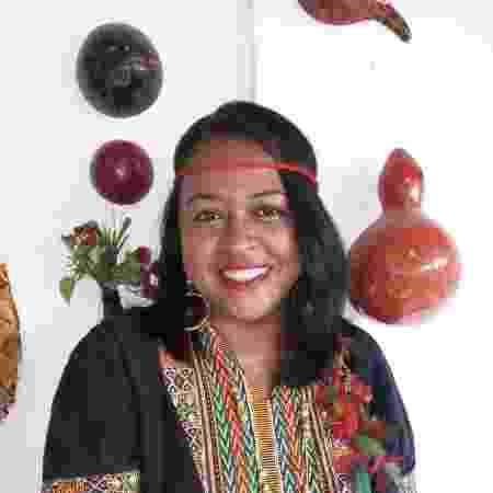 Kunã Yporã, 38, é conhecida como Raquel Aguiar Tremembé, e integra a Articulação da Teia de Povos de Comunidades Tradicionais do Maranhão. - Arquivo pessoal - Arquivo pessoal