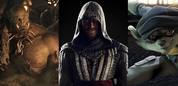 """""""Warcraft"""", """"Assassin""""s Creed"""" e """"Sly Cooper"""": filmes de games para todos os gostos prometem invadir os cinemas em 2016 - Divulgação"""