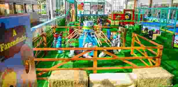Parque inspirado na fazenda tem mais de dez brinquedos voltados para crianças de um a 12 anos - Divulgação/Priscilla Fiedler