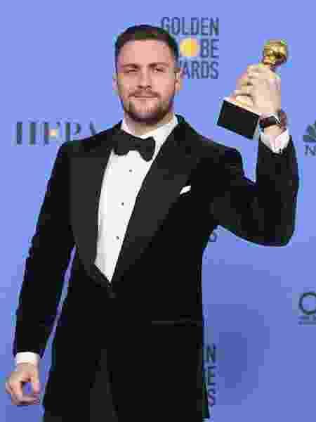 """Aaron Taylor-Johnson levou o Globo de Ouro 2017 de melhor ator coadjuvante por """"Animais Noturnos"""" - Getty Images"""