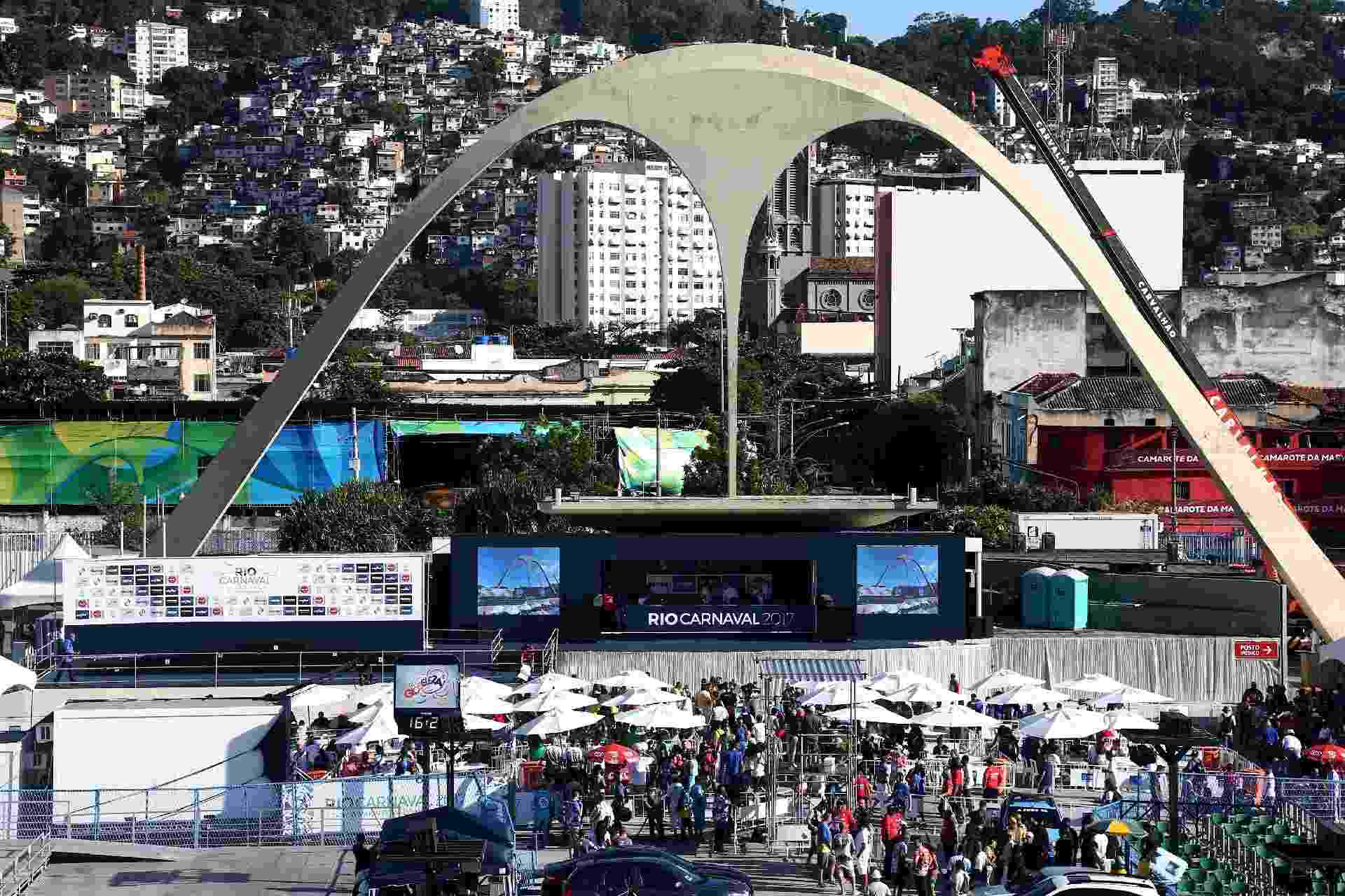 Apuração das escolas de samba do Carnaval do Rio de Janeiro - WILTON JUNIOR/ESTADÃO CONTEÚDO