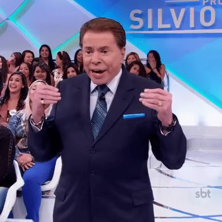 Silvio Santos faz piada com Paola Oliveira - Reprodução/Youtube