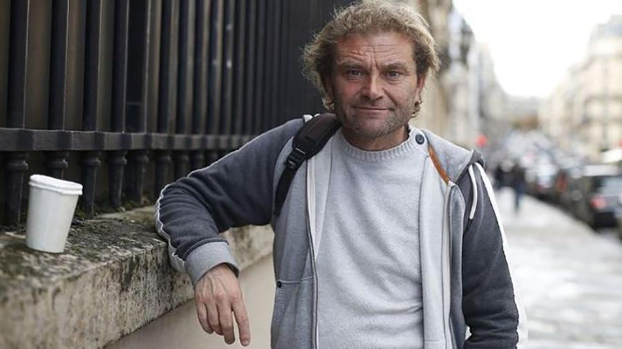 O escritor Jean-Marie Roughol, ex-morador de rua - Thomas Samson/AFP/Getty Images