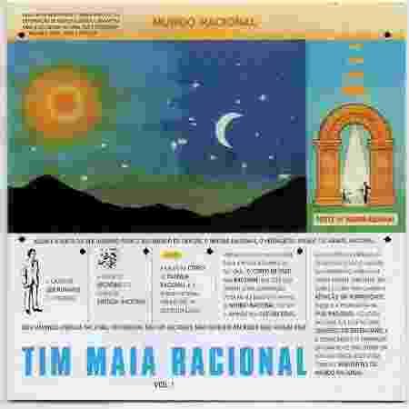 """A obra-prima do mestre: """"Tim Maia Racional, Vol. 1"""" - Reprodução - Reprodução"""