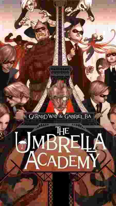 """Capa da HQ """"The Umbrella Academy"""" - Divulgação - Divulgação"""