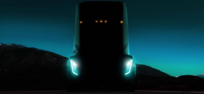 Tesla Semi Truck - Reprodução