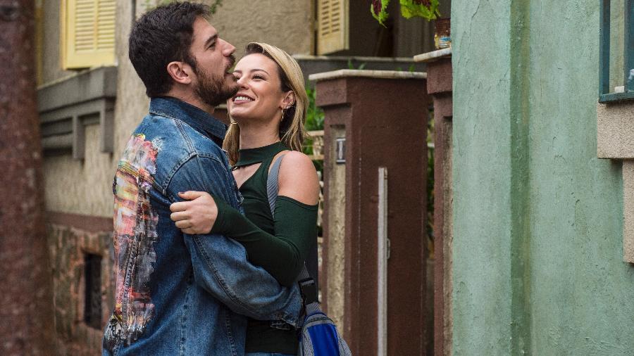 """Zeca (Marco Pigossi) e Jeiza (Paolla Oliveira) em """"A Força do Querer"""" - Mauricio Fidalgo/TV Globo"""