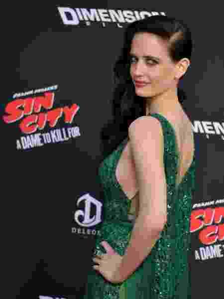 """Eva Green na pré-estreia de """"Sin City"""" - Mark Ralston/AFP"""