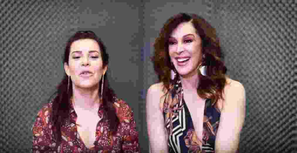Fernanda Souza e Claudia Raia - Reprodução/YouTube