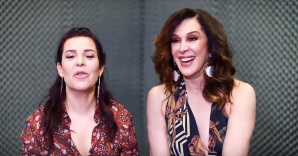Fernanda Souza e Claudia Raia