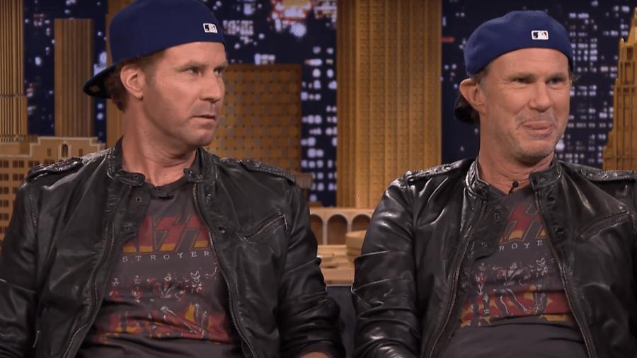 O ator Will Ferrell e o músico Chad Smith são iguaizinhos - Reprodução