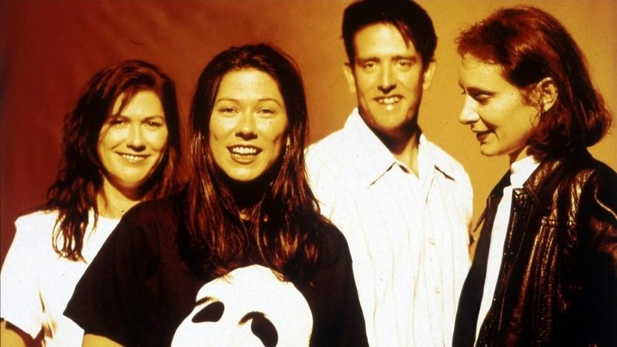 A banda The Breeders em 1993 - Reprodução