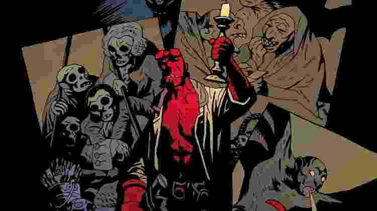 """""""Hellboy"""", criação de Mike Mignola - Reprodução - Reprodução"""