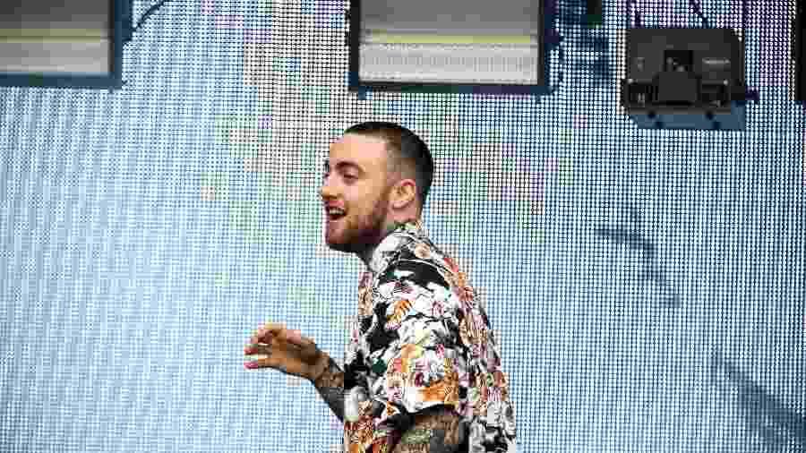 Mac Miller se apresenta no palco eletrônico do Lollapalooza Brasil 2018 - Mariana Pekin/UOL