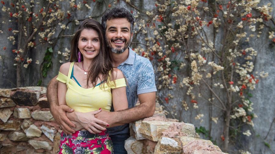 Desirée (Priscila Assum) e Juvenal (Anderson Di Rizzi) - Mauricio Fidalgo/Globo