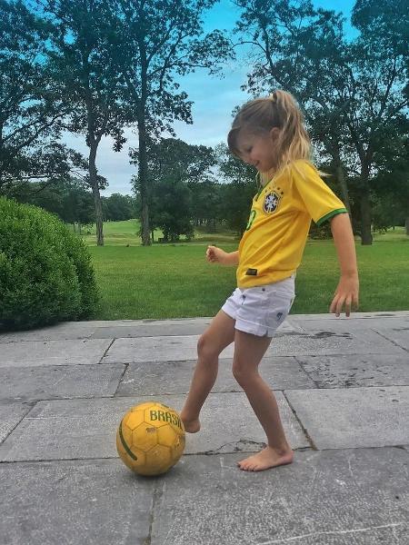 Vivian Lake, filha de  Gisele Bündchen e Tom Brady - Reprodução/Instagram