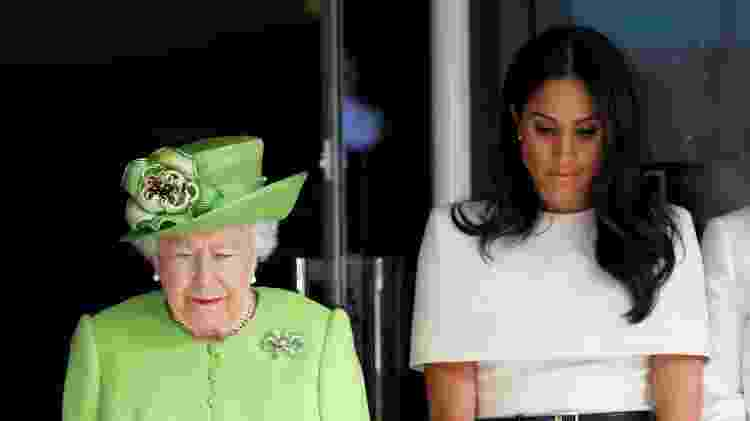 Elizabeth e Meghan - Getty Images - Getty Images