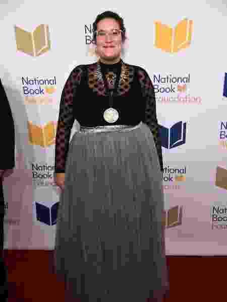 A escritora Carmen Maria Machado em cerimônia do National Book Awards, em novembro de 2017 - Dimitrios Kambouris/Getty Images - Dimitrios Kambouris/Getty Images