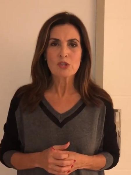 Fátima Bernardes rebate notícia falsa - Reprodução/Instagram