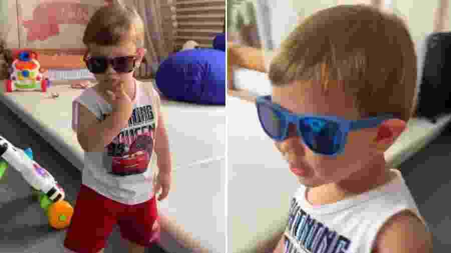 Gabriel, filho mais velho de Andressa Suita e Gusttavo Lima - Reprodução/Instagram