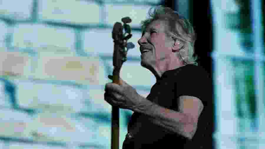 Roger Waters, fundador do Pink Floyd, se apresenta no estádio Couto Pereira, em Curitiba - Theo Marques/UOL