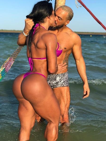 Gracyanne e Belo curtem férias em Jericoacoara - Reprodução/Instagram